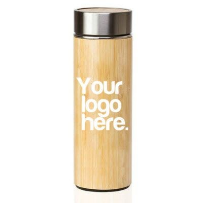 E-TREND BAMBOO FLASK- MCK PROMOTIONS