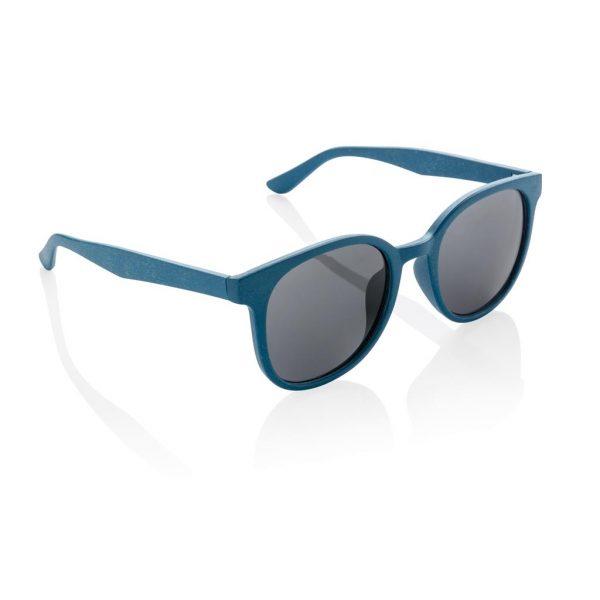 ECO wheat straw fibre sunglasses Blue- MCK Promotions
