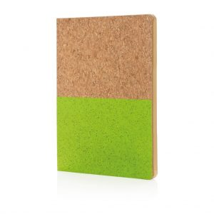 Eco cork notebook- MCK Promotions