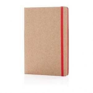 Eco-friendly A5 kraft notebook- MCK Promotions