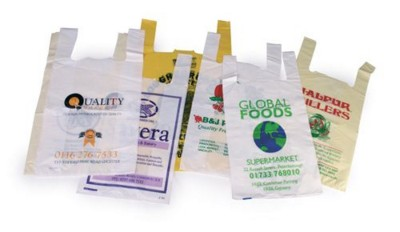HDPE Vest Supermarket Carrier Bag- MCK Promotions