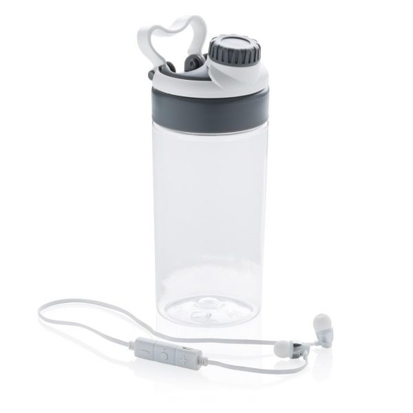 Leakproof bottle with wireless earbuds- MCK Promotions