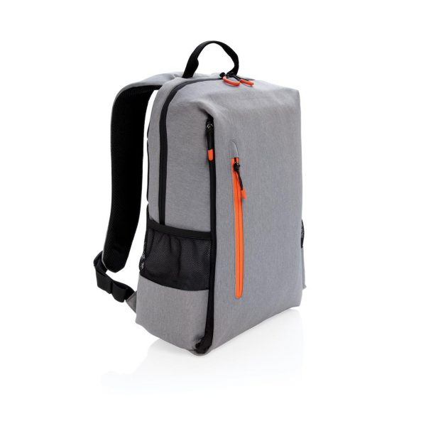 Lima 15inch RFID & USB laptop backpack- MCK Promotions