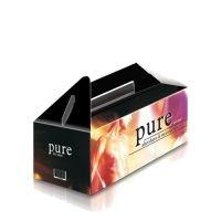 MEDIUM PAPER LUNCH BOX- MCK PROMOTIONS