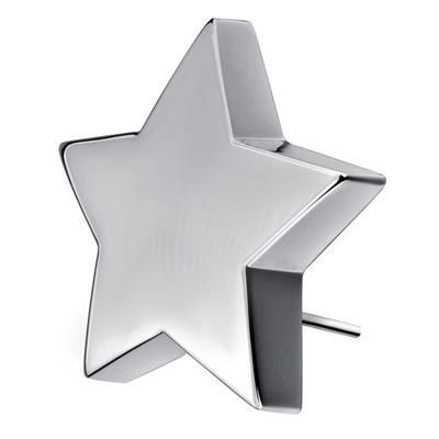 SHINING STAR TROPHY AWARD in Silver Finish- MCK Promotions