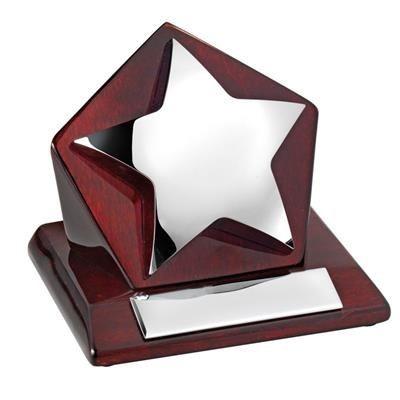STAR ON WOOD TROPHY AWARD- MCK PROMOTIONS