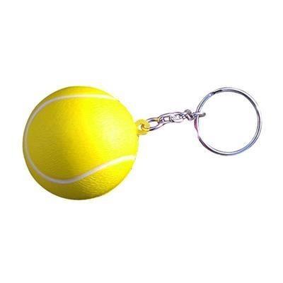 STRESS TENNIS BALL KEYRING- MCK PROMOTIONS