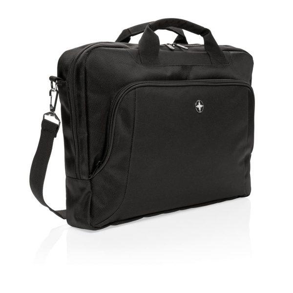 Swiss Peak deluxe 15inch laptop bag- MCK Promotions