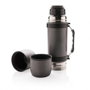 Vacuum flask with 2 cups- MCK Promotions