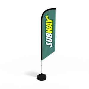 ANGLED FLAG KIT includes: Full Colour Digitally Printed Flag Banner, Fibreglass Poles, Carry Bag And Simple Ground Spike. Additional Bases Available. Uses Include: Outdoor Events, Shop Branding, Fetes, Indoor Events, Council Events, Sports. Height available in :3.4M & 5.6M