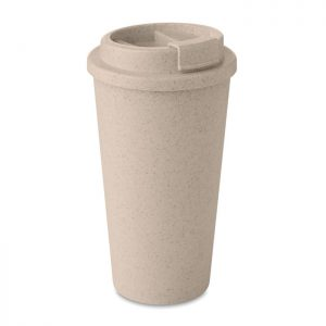Natural Double Walled Bamboo Cup_MCK Promotions