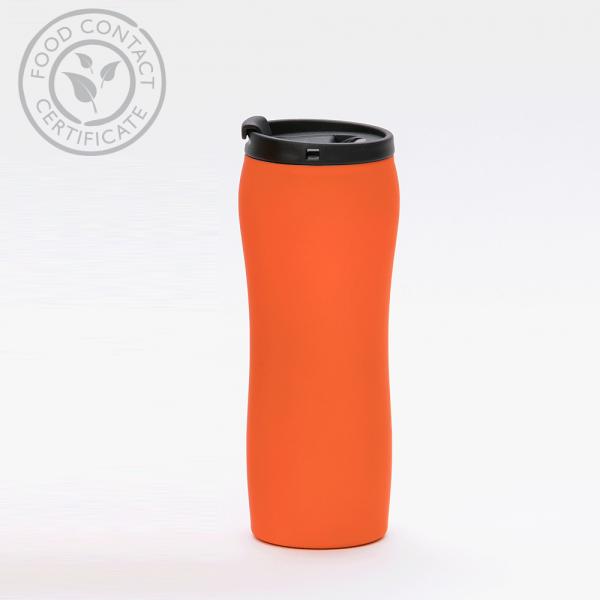 MCK Promotions Orange Tumbler Travel Mug