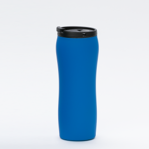 Thermal Mug_MCK Promotions_Soft Feel - Blue