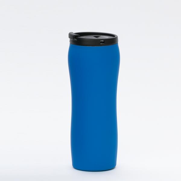 Thermal Mug_MCK Promotions_Soft Feel - Blue