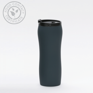 Thermal Mug_MCK Promotions_Soft Feel - Grey