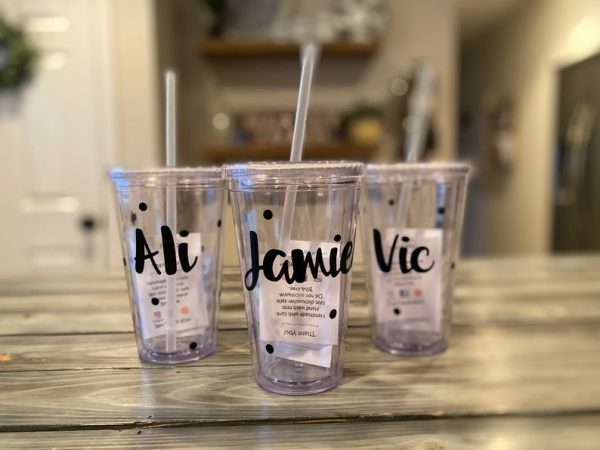Personalised ame Tumbler _ Tomerin Gifts