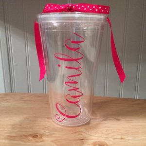 Personalised name Tumbler _ Tomerin Gifts