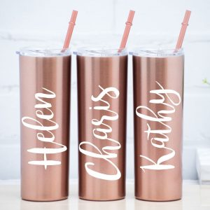 Rose GoldTumbler _tomerin gifts ireland