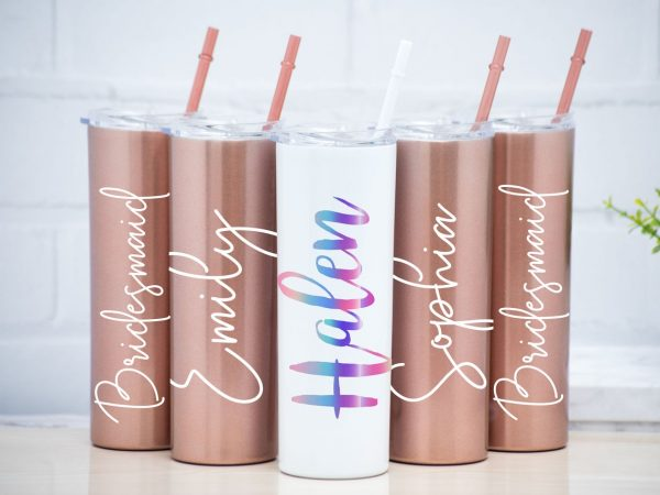 Rose GoldTumblers _ tomerin gifts ireland